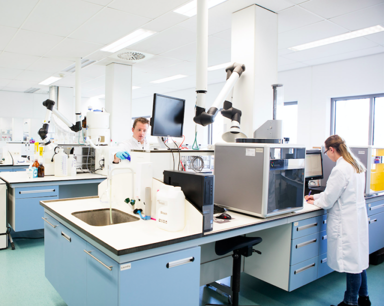 laboratorium gleby