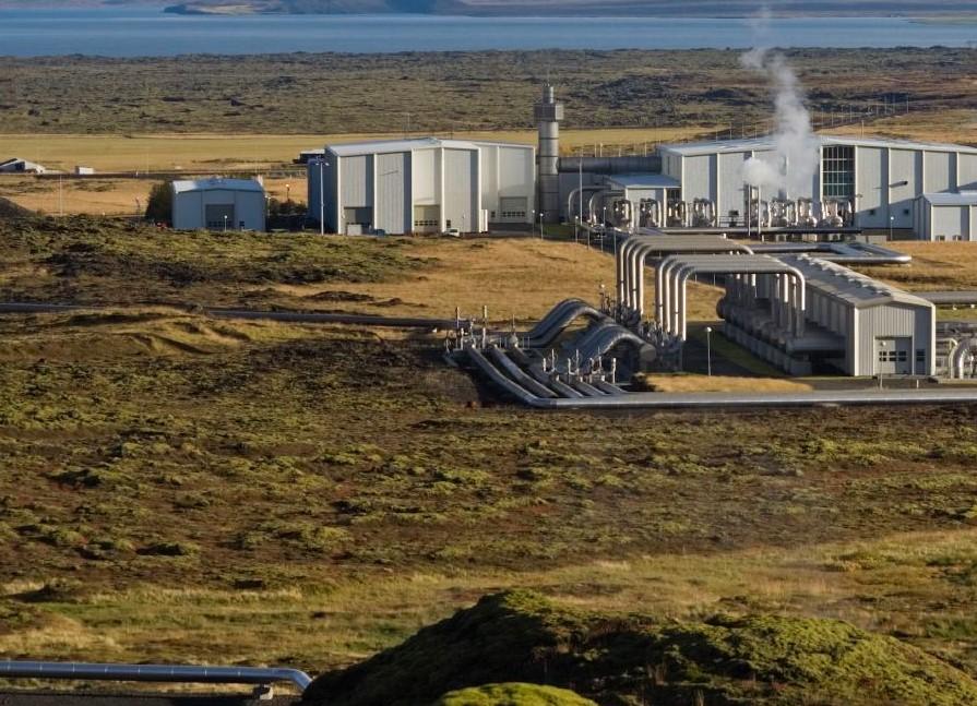 Zakład energetyki geotermalnej. Rurociągi.