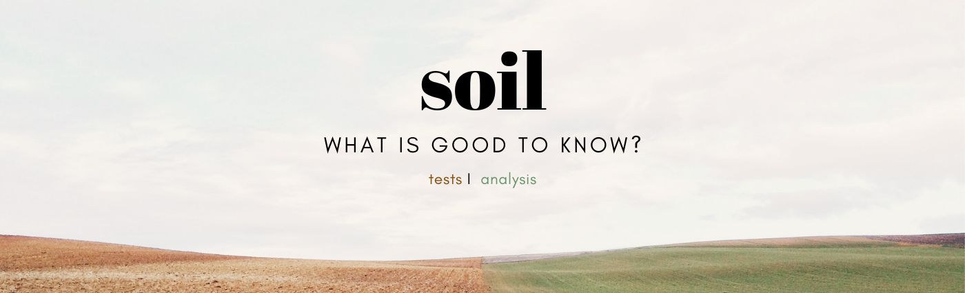 soil test baner