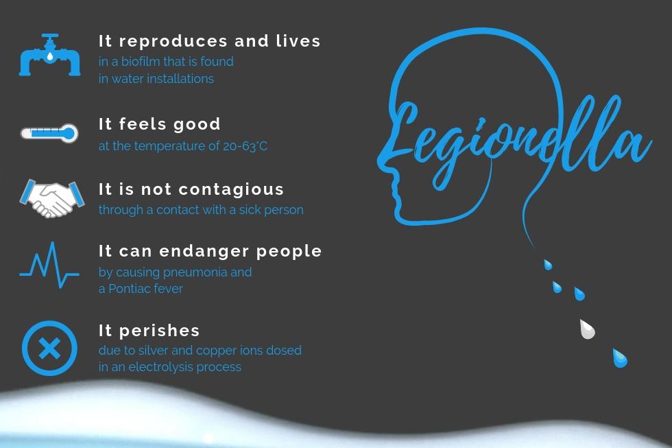 Facts abput Legionella - infographic