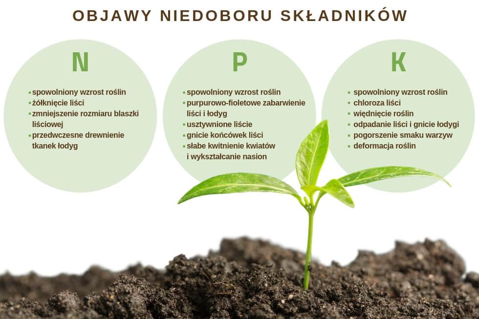 Niedobór składników NPK - badania gleby