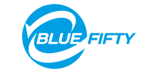 blue fifty logo